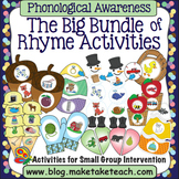 Rhyme - The Big Bundle of Rhyme Activities