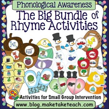 Rhyme - The Big Bundle of Rhyme Activities