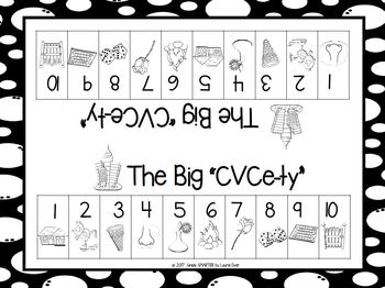 """The Big """"CVCe-ty"""":  NO PREP City Themed CVCe Words Roll and Remove Game"""