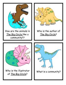 The Big Circle Comprehension Questions