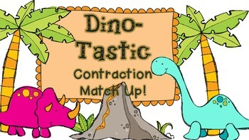 The Big Circle- Dino-tastic Contraction Match Up