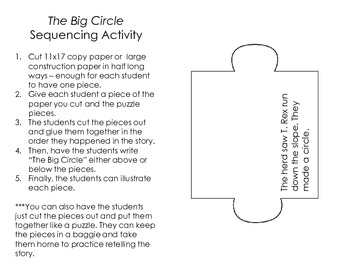 The Big Circle Literacy Pack- First Grade Foresman Reading Street