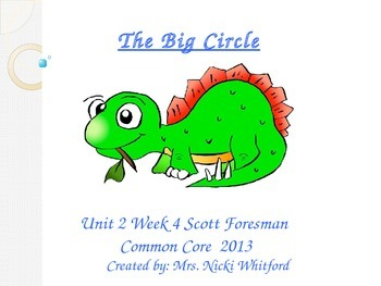"""The Big Circle"" (Instructional Guide for Reading Street 2013)"