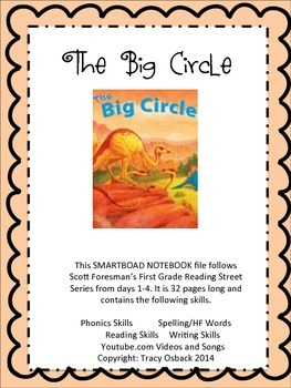 The Big Circle SMARTboard Lesson Scott Foresman Reading Street Grade 1