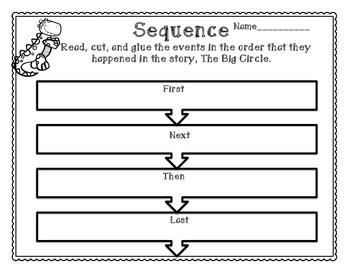 The Big Circle- Sequencing Mini Pack- Freebie