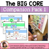 The Big Core Vocabulary Companion Pack for Autism, Speech Therapy, AAC