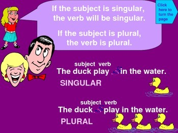 The Big Disagreement - Subject-Verb Agreement Lessons and Practice
