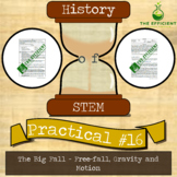 The Big Fall - History of STEM practicals - Free-fall, Motion and Momentum