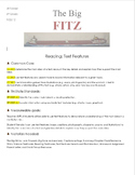 The Big Fitz Rigby Literacy Lesson Plan - Common Core Alig