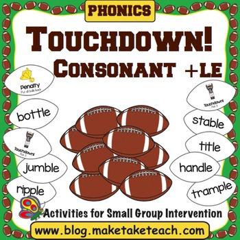 Consonant + le - Touchdown!
