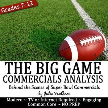 The Super Football Game Commercial Analysis (Ethos, Pathos, Logos)