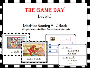 The Big Game - Level C (Reading A-Z)  Modified