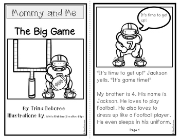 The Big Game: Mommy and Me Series {Transitional Reader}