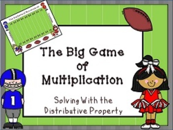 distributive property activity and game