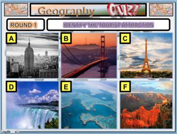 The Big Geography Quiz 2018