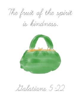 The Big Green Pocketbook Bible Verse Printable