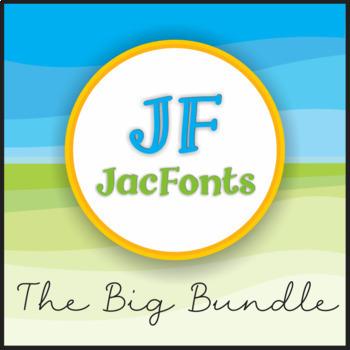 The Big Growing Bundle of JacFonts