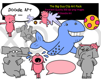 The Big Guy Clipart Pack