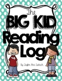 The Big Kid Reading Log