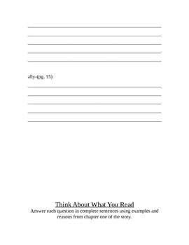 The Big Lie Guided Reading Unit~F&P Level T
