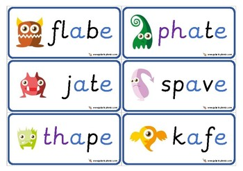 The Big Long Vowel Card & Poster Pack