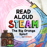 The Big Orange Splot Read Aloud Back to School STEAM Activity