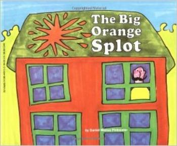 The Big Orange Splot Emergency Sub Plan or Minilesson
