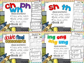 The Big Phonics Bundle - A Year of Spelling and Phonics Interactive Activities