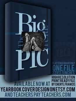 The Big Picture 2017 Yearbook Cover Design