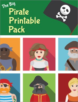 The BIG Pirate Printable Pack for Pre-K and Kindergarten