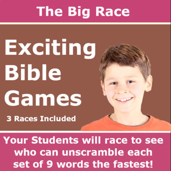 The Big Race – Books of the Bible and the Apostles