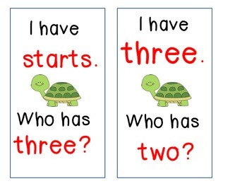 The Big Race I Have Who Has (First Grade Journeys Common Core Reading Series)