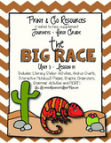 The Big Race - Journeys First Grade Print and Go
