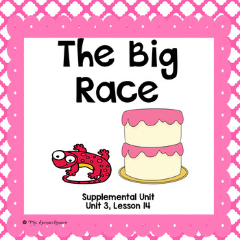 The Big Race- First Grade Supplemental Unit
