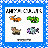 Animal Groups- First Grade Supplemental Unit