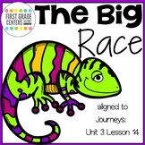 The Big Race aligned with Journeys First Grade Unit 3 Lesson 14