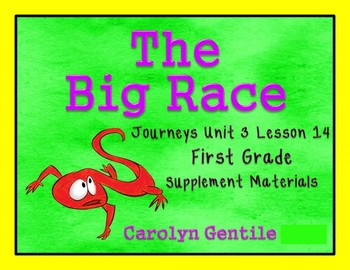 The Big Race Journeys Unit 3 Lesson 14 First Grade Supplements Activities