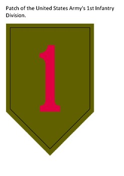 The Big Red One – 1st Infantry Division Word Search