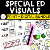 The Big Set of Special Education Visuals
