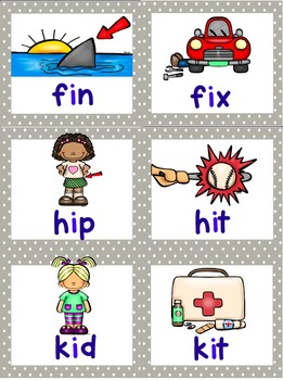CVC Word Work and Short Vowel Games
