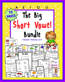CVC Activities | CVC centers | CVC Word Work | Short Vowel Games | BUNDLE