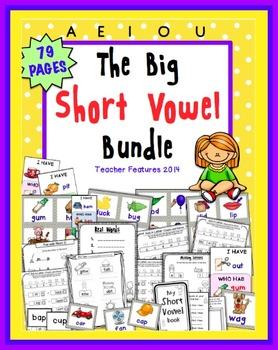 CVC Activities   CVC centers   CVC Word Work   Short Vowel Games   BUNDLE