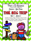 The Big Trip - Journeys First Grade Print and Go