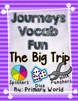 The Big Trip, Journeys First Grade Unit 4 Lesson 17 Vocabulary