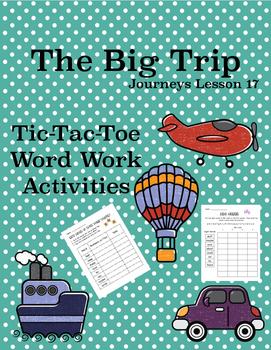 The Big Trip Journeys Lesson 17