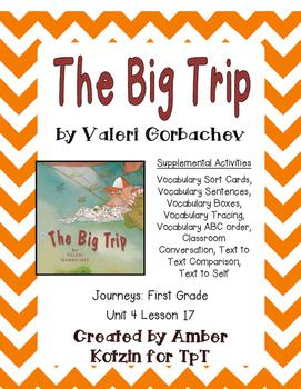 The Big Trip Suplemental Activities 1st Grade Journeys Uni