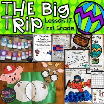 The Big Trip Supplement Activities Journeys 1st Grade Lesson 17