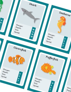 The BIG Under the Sea Printable Pack for Pre-K and Kindergarten