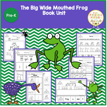 The Big Wide Mouthed Frog  Book Unit