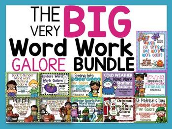 The Big Word Work Galore Bundle